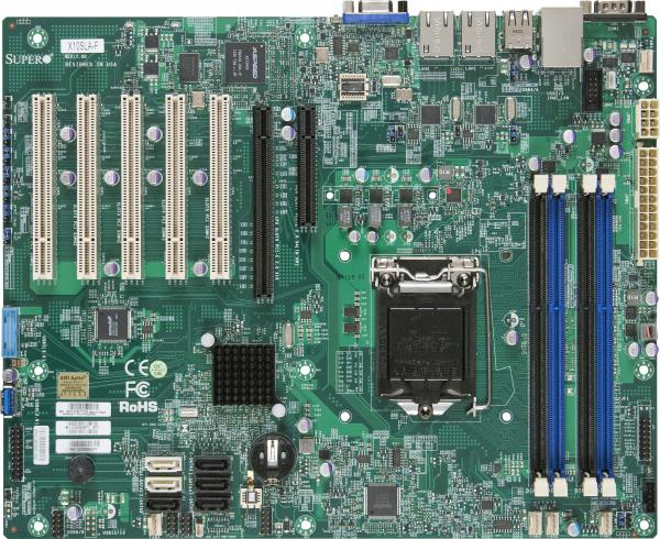 Supermicro Motherboard Xeon Boards X10SLA-F